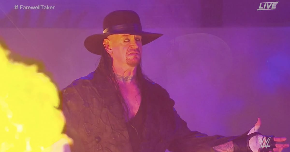 The Undertaker Returns As The Deadman At WWE Survivor Series 2020