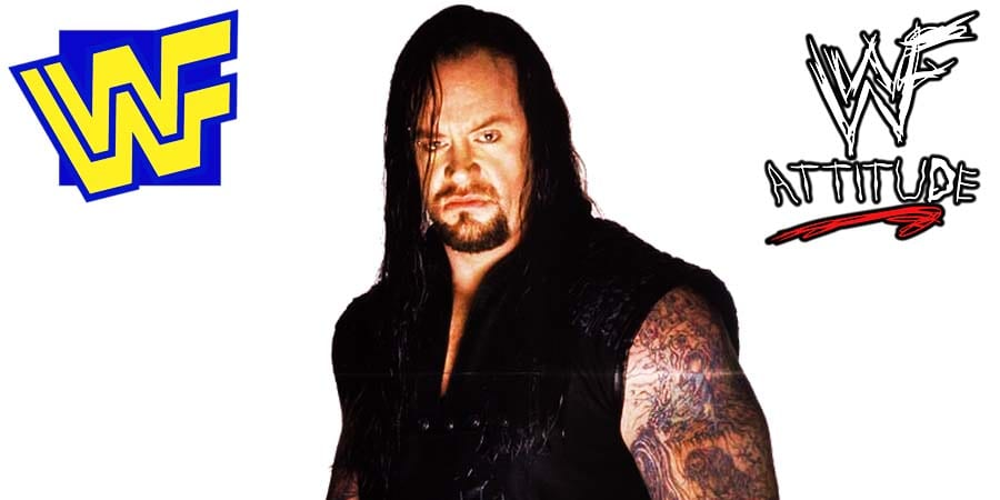 The Undertaker WWF 1998