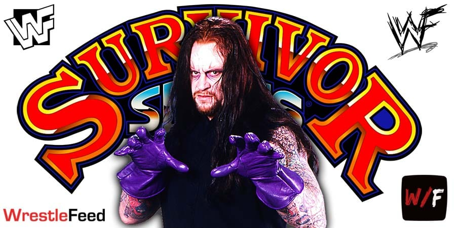 Undertaker Final Farewell WWE Survivor Series 2020