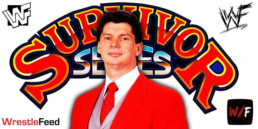 Vince McMahon Survivor Series 2020 WrestleFeed App