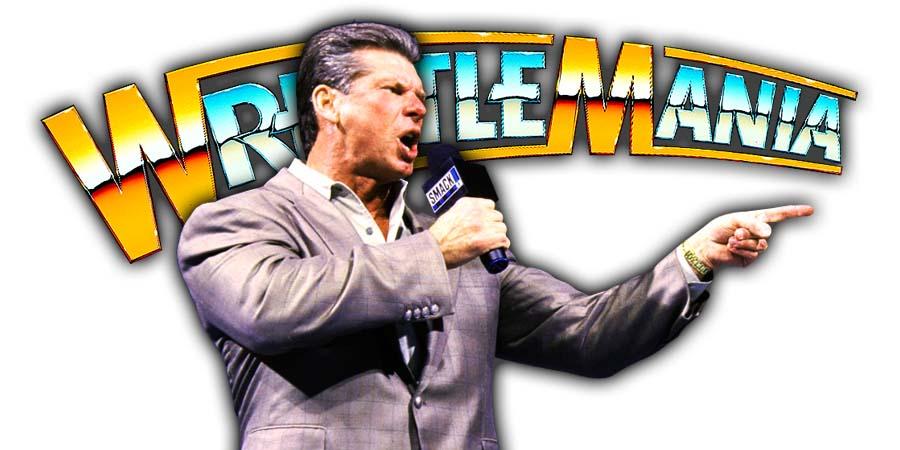 Vince McMahon WrestleMania 37