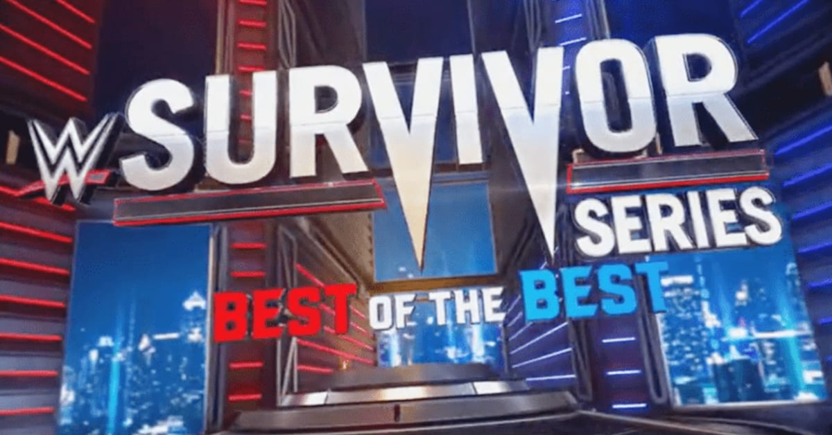 WWE Survivor Series 2020 Best Of The Best Banner