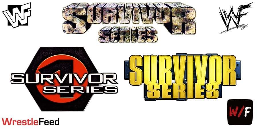 WWF WWE Survivor Series Logos WrestleFeed App