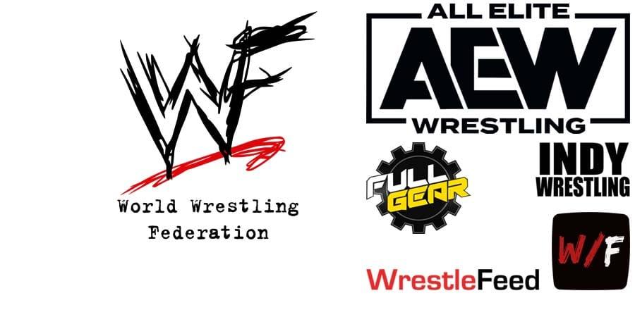 WWF WWE Wrestler AEW Full Gear 2020