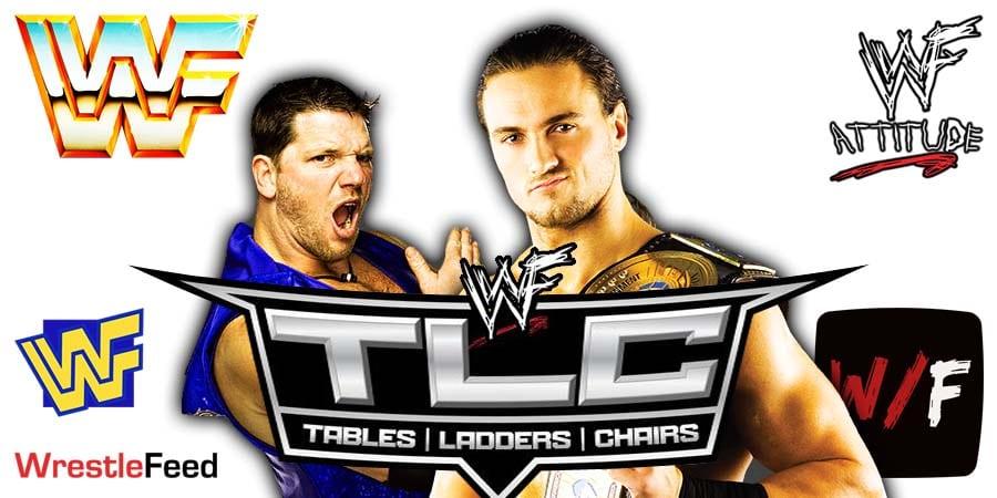 AJ Styles vs Drew McIntyre WWE Title TLC Match WrestleFeed App