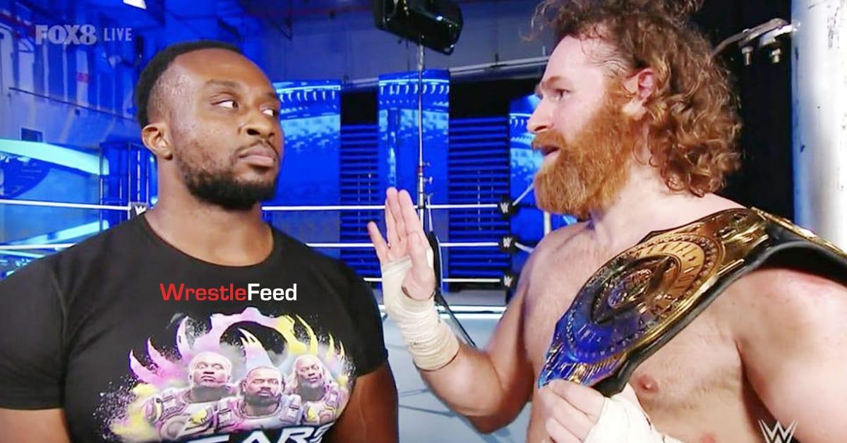 Big E Sami Zayn WWE Intercontinental Champion WrestleFeed App