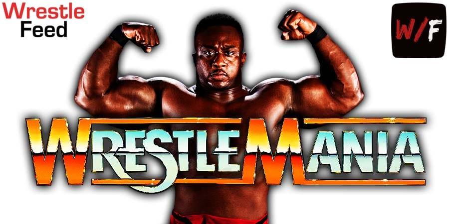 Big E WrestleMania 37 WrestleFeed App