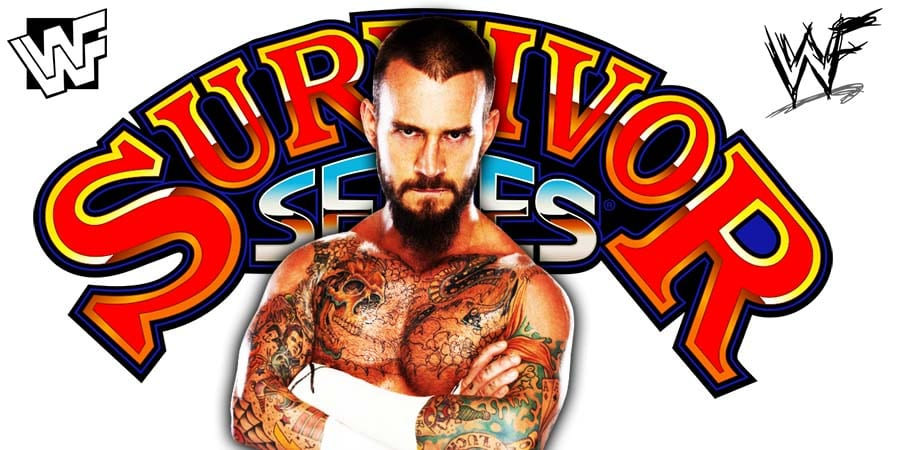 CM Punk Survivor Series 2012