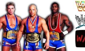 Charlie Haas Shelton Benjamin Kurt Angle - Team Angle Article Pic 1 WrestleFeed App