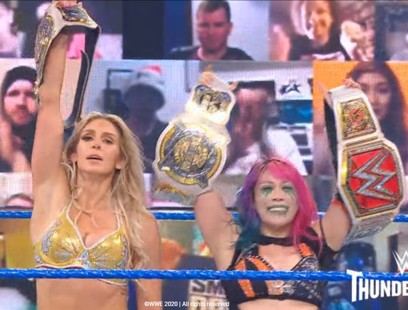 Charlotte Flair Asuka Retain WWE Women's Tag Team Championship On Final SmackDown Of 2020