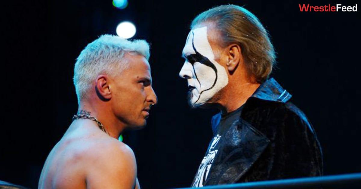Darby Allin Sting Face Off AEW Dynamite WrestleFeed App