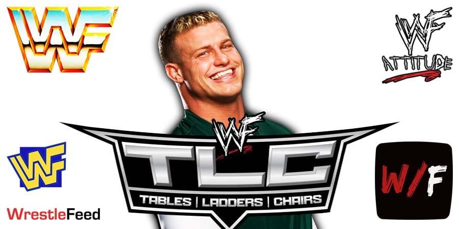 Dolph Ziggler TLC 2020 WrestleFeed App