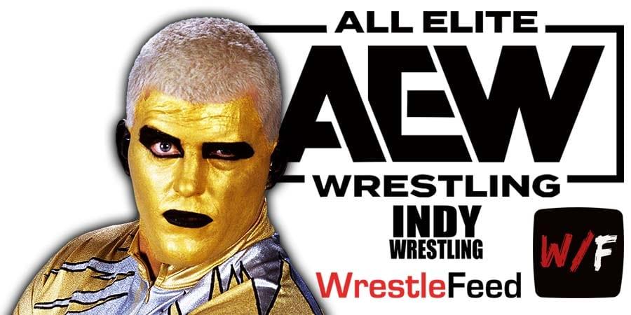 Goldust - Dustin Rhodes - Dustin Runnels AEW Article Pic 1 WrestleFeed App