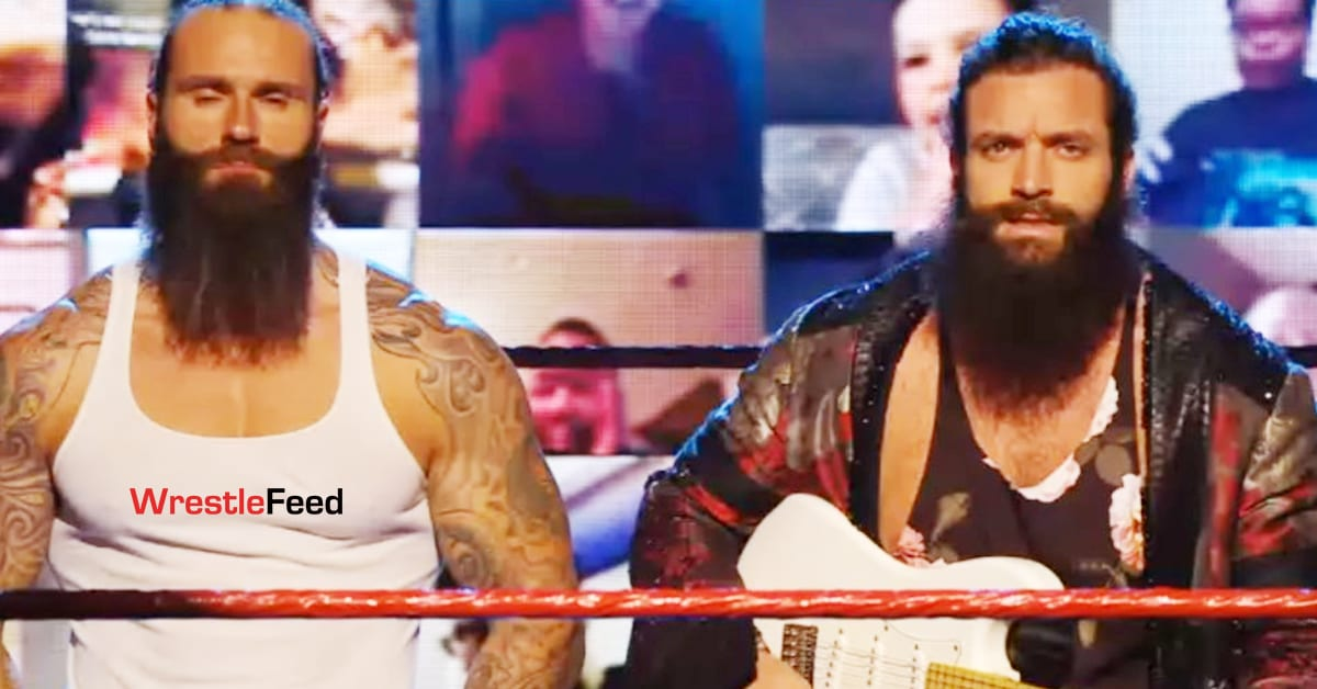 Jaxson Ryker Returns On WWE Main Event With Elias December 7 2020 WrestleFeed App