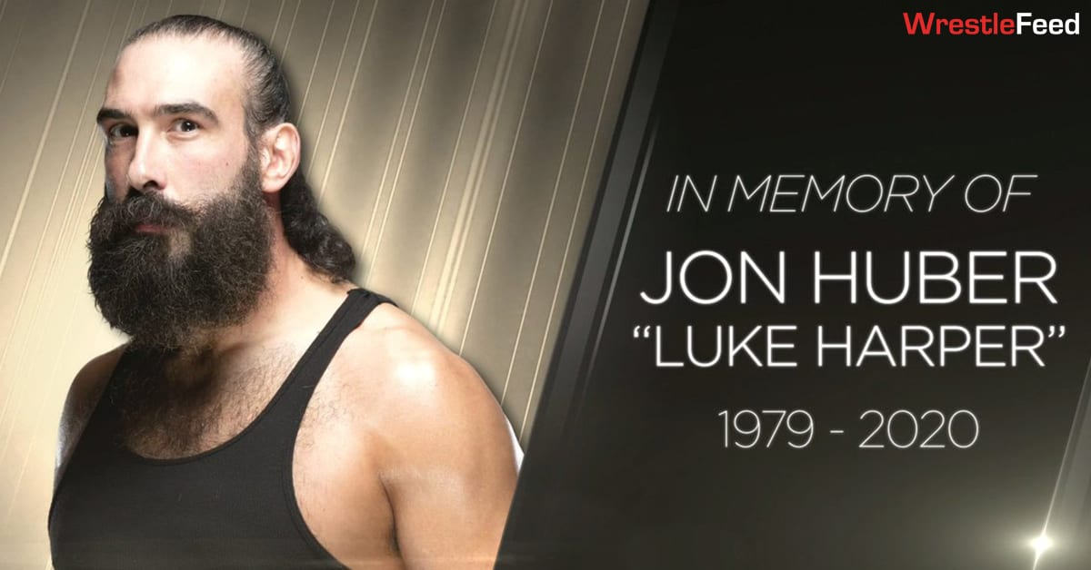 Jon Huber Luke Harper Brodie Lee WWE In Memory Of Graphic WrestleFeed App