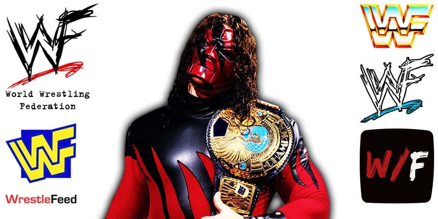 Kane WWF Champion Article Pic 2 WrestleFeed App