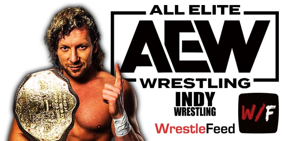 Kenny Omega AEW World Champion Article Pic 1 WrestleFeed App