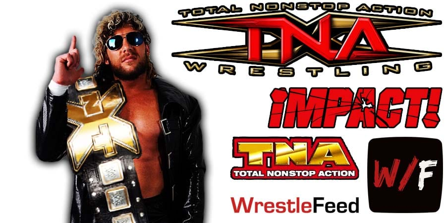 Kenny Omega World Champion AEW TNA Impact Wrestling WrestleFeed App