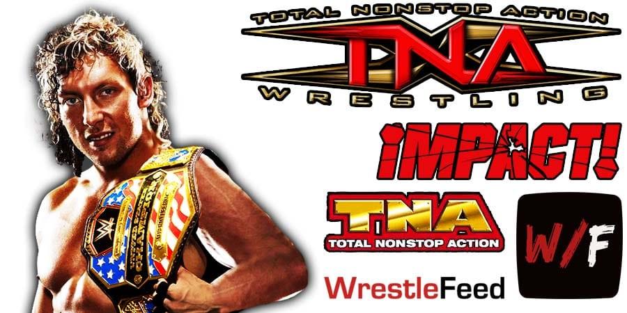Kenny Omega World Champion TNA Impact Wrestling AEW WrestleFeed App