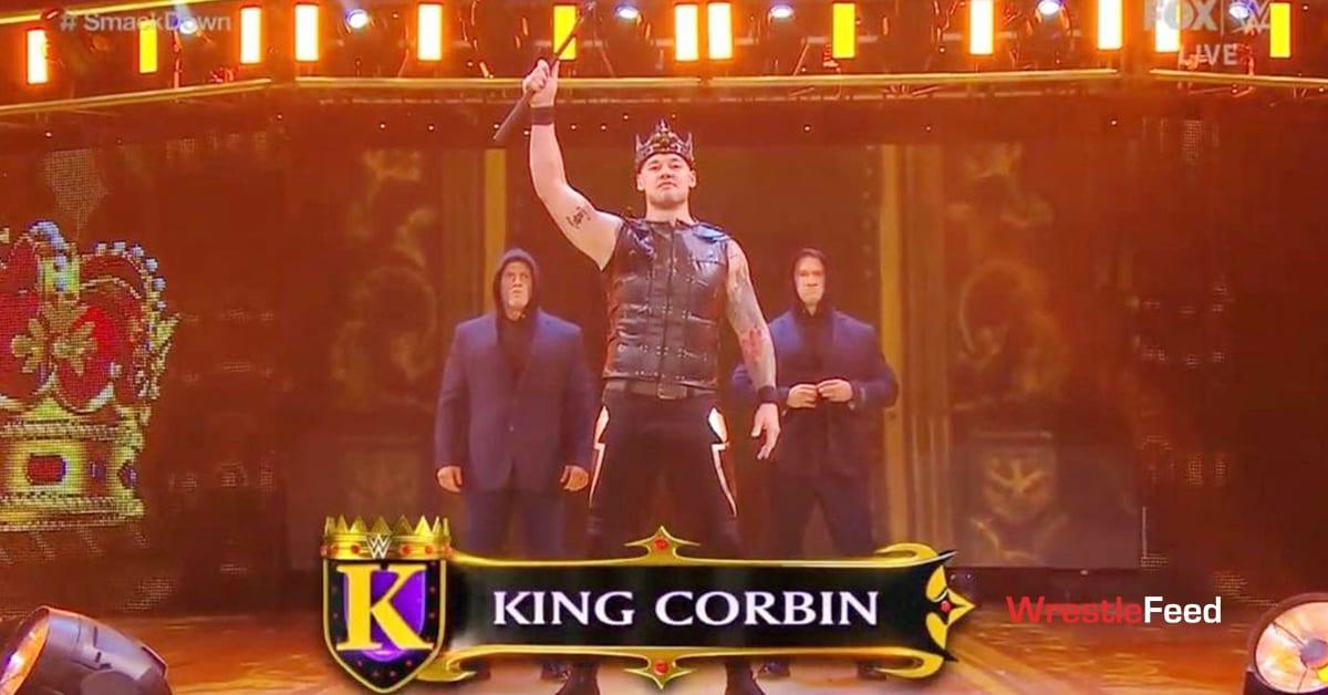 King Corbin Steve Cutler Wesley Blake Forgotten Sons New Gimmick SmackDown December 2020 WrestleFeed App