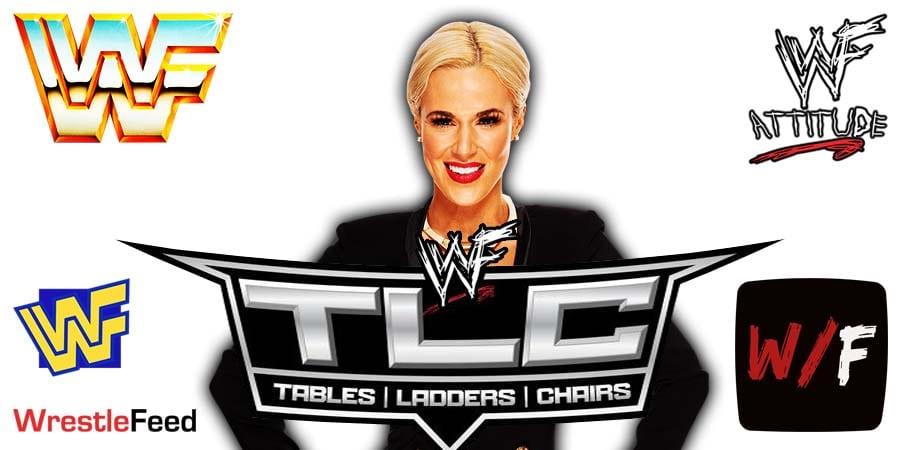 Lana TLC 2020 WrestleFeed App