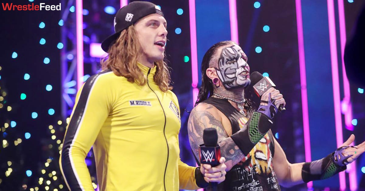 Matt Riddle Jeff Hardy Hardy Bros Tag Team WrestleFeed App