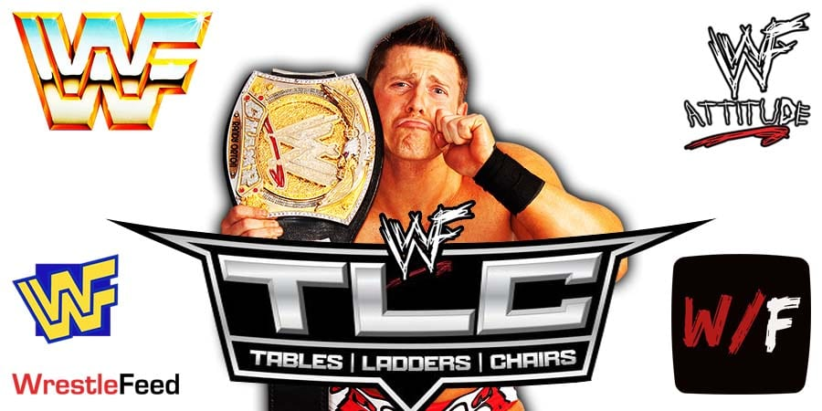 Miz Cashes In & Fails At TLC 2020 WrestleFeed App