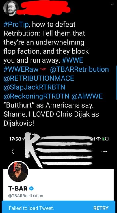 Mustafa Ali Fires Back At A Fan With For Guiding Others On How To Defeat RETRIBUTION
