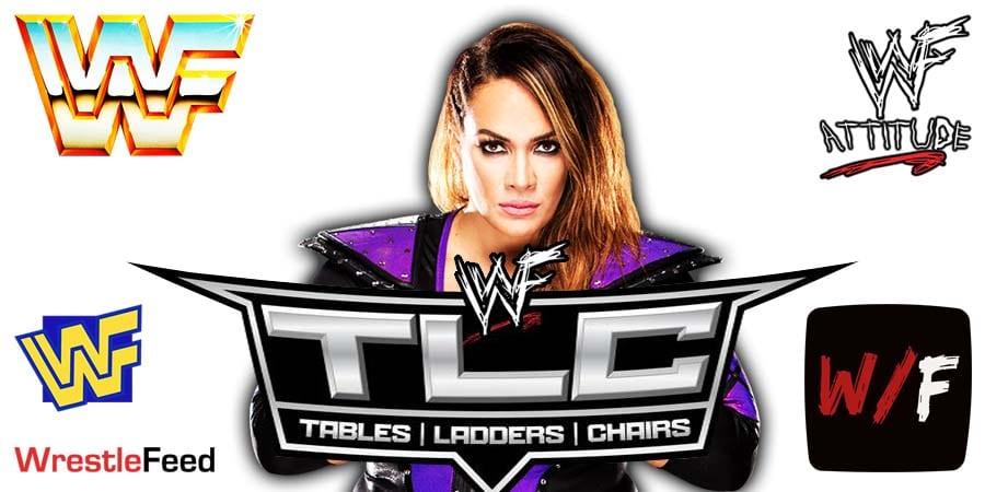 Nia Jax TLC 2020 WrestleFeed App