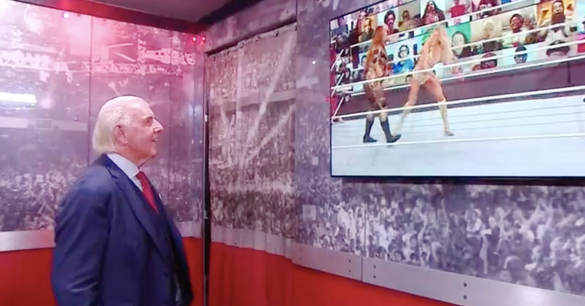 Ric Flair Backstage At TLC 2020