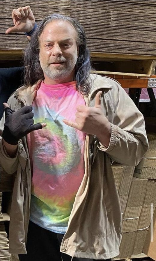 Rob Van Dam Looking Old For A Movie Role December 2020