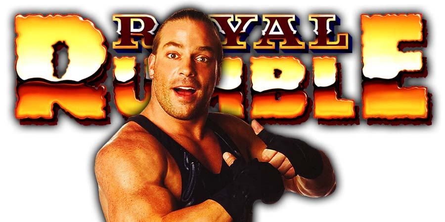 Rob Van Dam RVD Royal Rumble 2021