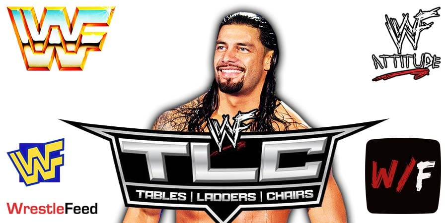 Roman Reigns Wins At TLC 2020 WrestleFeed App