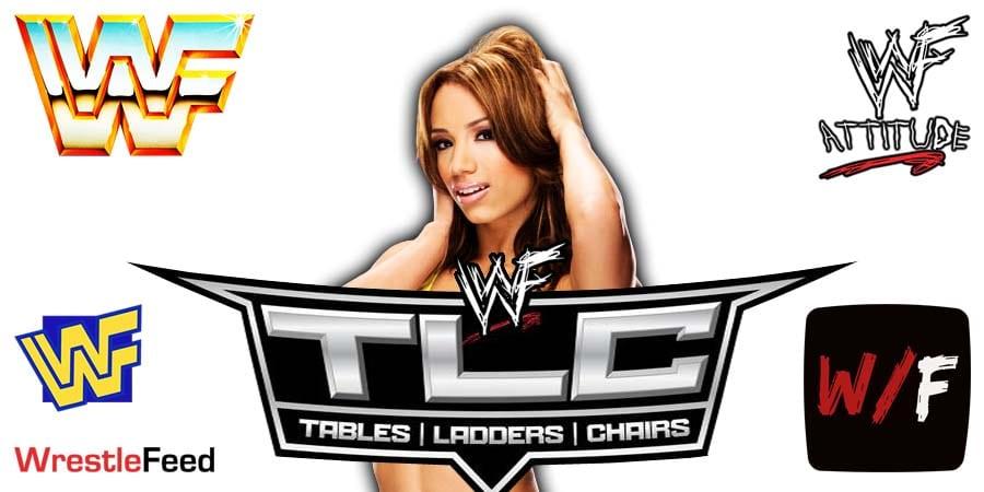 Sasha Banks TLC 2020 WrestleFeed App