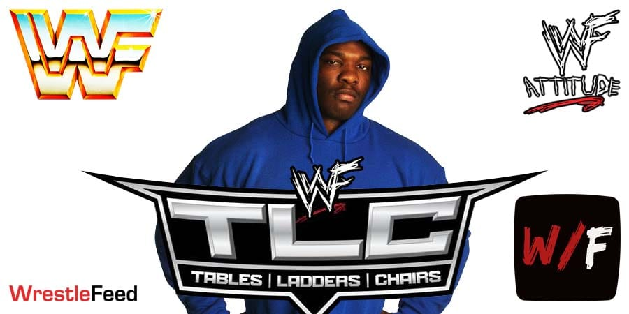 Shelton Benjamin TLC 2020 WrestleFeed App