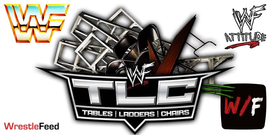 TLC Tables Ladders Charis PPV Logo WrestleFeed App
