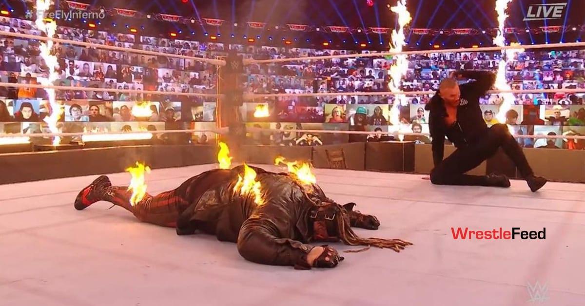 The Fiend Burned At TLC 2020