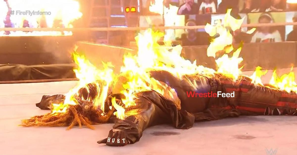 The Fiend Completely Burned At TLC 2020 WrestleFeed App