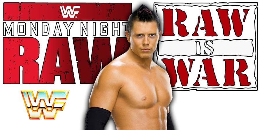 The Miz RAW Article Pic