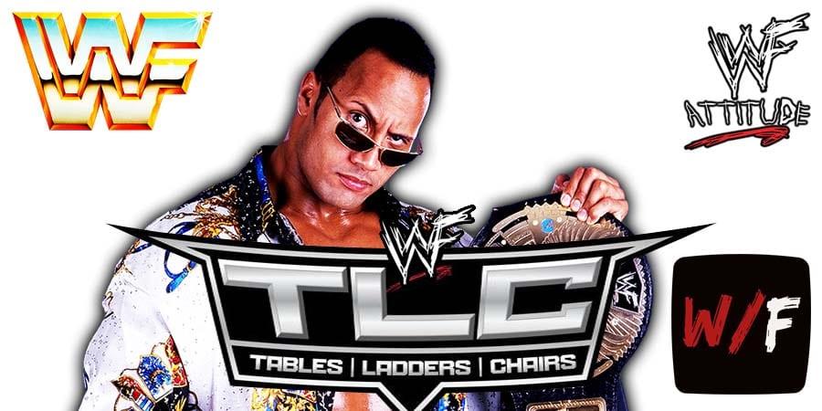 The Rock TLC 2020 WrestleFeed App
