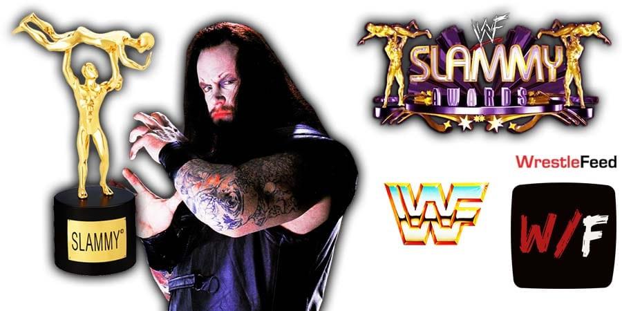 The Undertaker Wins 3 WWE Slammy Awards 2020 WrestleFeed App