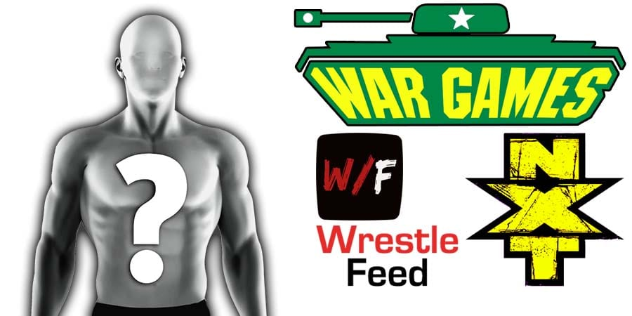 Vacant - Mystery Opponent - Mystery Partner War Games Article Pic 2 WrestleFeed App