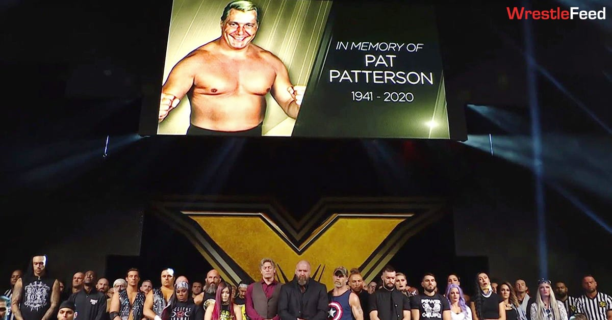 WWE Tribute To Pat Patterson On NXT WrestleFeed App