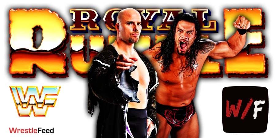 Adam Pearce vs Roman Reigns No Longer Happening At Royal Rumble 2021