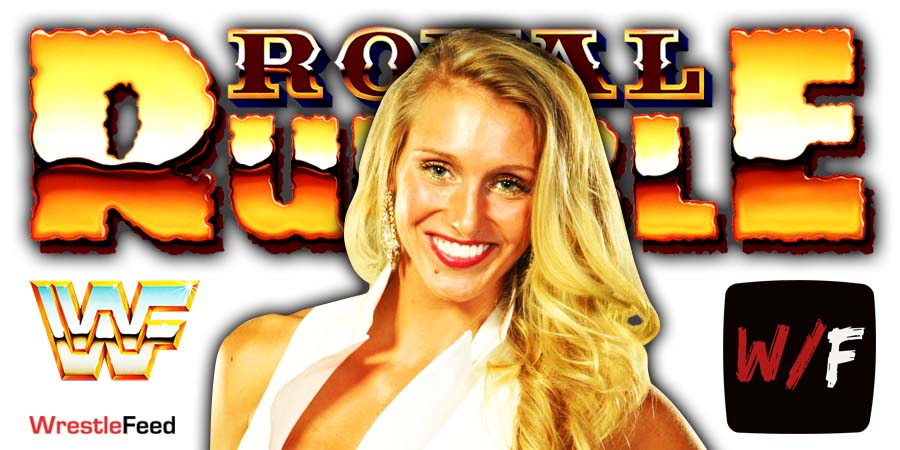 Charlotte Flair Royal Rumble 2021 WrestleFeed App