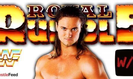 Drew McIntyre Royal Rumble 2021 WWE WrestleFeed App
