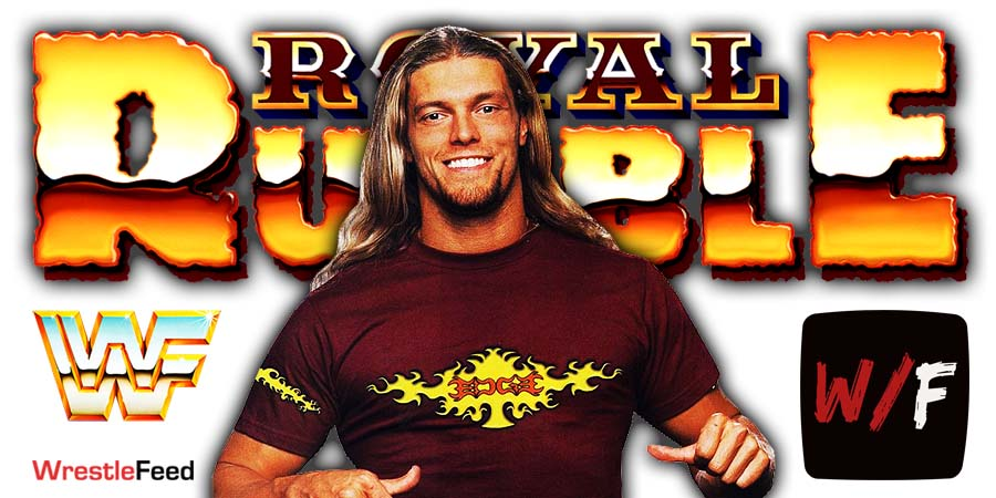 Edge Royal Rumble 2021 WrestleFeed App