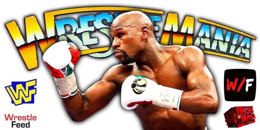 Floyd Mayweather Jr WrestleMania 24 WWE 2008 WrestleFeed App