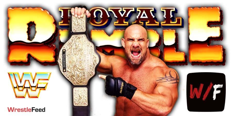 Goldberg Champion WWE Royal Rumble 2021 WrestleFeed App