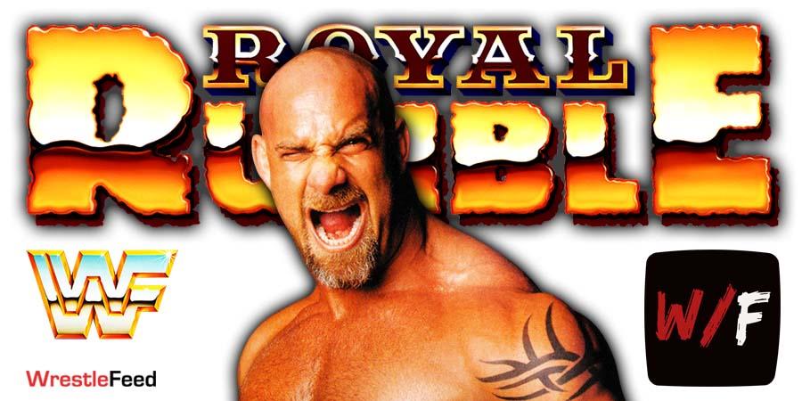 Goldberg Royal Rumble 2021 WrestleFeed App